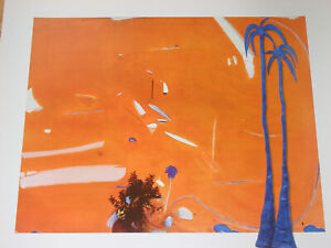 BRETT WHITELEY : BIG ORANGE ( SUNSET )