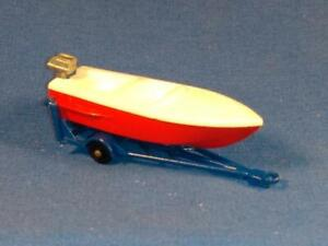 1961 Matchbox Lesney Series No. 48, Sports Boat & Trailer, Excellent Condition!