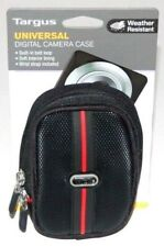 Targus Digital Camera Case Universal Compact Camera Bag Small Pouch Black Red