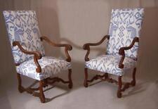 Walnut Louis XV Original Antique Chairs