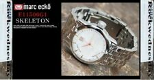 Mark Ecko Watch Men's White Crystal Silver Textured Dial Stainless Steel