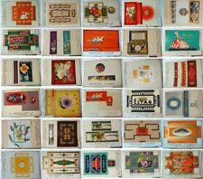 53 Originale Verpackungs-Entwürfe, bzw. Muster der Firma Kramp & Comp