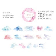 Japanese Masking/ Washi Paper Tape Scrapbook DIY Cotton Candy Cloud