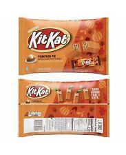 HALLOWEEN Kit Kat Miniatures Pumpkin Pie Wafers 9.7 Oz Bag FREE SHIPPING