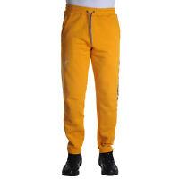 Octopus Logo Sweatpants Pantalone Uomo 19WOSP06 YEL Dark Yellow