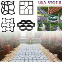 Paving Mold Driveway Patio Stepping Stone Pavement Paver Path Maker DIY