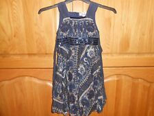 USED EXCELLENT CONDITION BARBARA FARBER DRESS STUNNING PATTERN SIZE 110