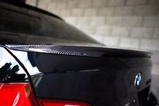 BMW CARBON FIBER PERFORMANCE STYLE TRUNK SPOILER FOR F10 M5