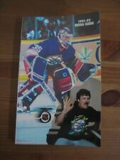 Winnipeg Jets 1991-92 Official NHL Media Guide-NEW