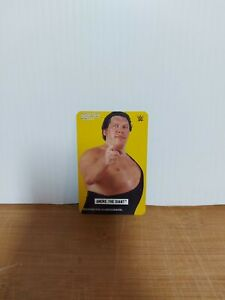 WWE Ravensburger Card Andre The Giant NM