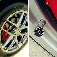 Universal Cross Style Car Tire Tyre Wheel Valve Stems Cover Black Dust Caps Q3M8