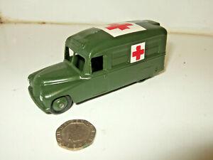Vintage V. Rare Dinky -Meccano toys 253 Daimler Military Ambulance , un-boxed