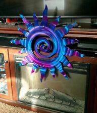 Metal Wall art sun Sculpture art work home deco living room indoor outdoor patio