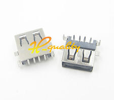10PCS USB Female Jack Connector Type A PCB Socket Adapter Solder Coupler top