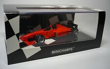 1 MINARDI F1 X2 PRIVATE SESSION FIORANO 2002 1:43 MINICHAMPS