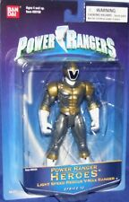 Power Rangers Lightspeed Rescue V-Max Titanium Ranger Heroes Series 12 New
