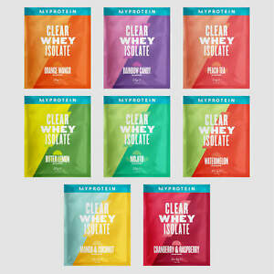 Clear Whey Isolate, Sample Pack, My Protein, 20 Sachets