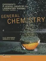 Experiments in General Chemistry by Rupert Wentworth and Barbara H. Munk...