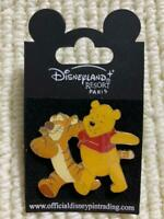Disney Pin Disneyland RESORT PARIS Limited Winnie the Pooh & Tigger