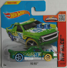 Hot Wheels - Fig Rig grün Neu/OVP