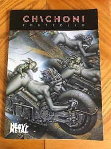 PORTFOLIO CHICHONI (SIGNED), SEALED, HEAVY METAL, LIMITED EDITION TO 1500