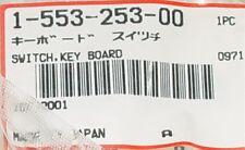5 PCs Sony 1-553-253-00 Switch Keybord For ICF-2001 - NOS