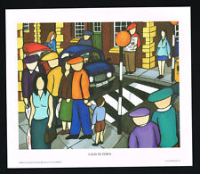 A Day In Town/Northern/Irish Art Group/Fine Print/Martin Laverty/Ireland/New