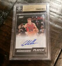 2017-18 Panini Player Of The Day Lauri Markkanen Rookie RC Autograph Auto Sp /30