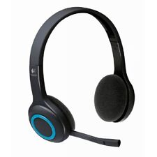 Logitech H600 Wireless Headset With Noise Canceling Microphone Tiny Nano Receive