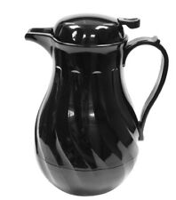 Boxed Insulated Tea Coffee Pot Server Black Or White 64oz 40oz Unbreakable