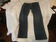 Starz DESIGNER WOMEN'S BLUE JEANS- SZ 13  straight leg 31 inch inseam