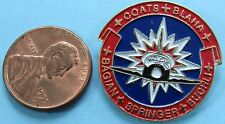 "NASA enamel PIN vtg Space Shuttle STS-29 DISCOVERY Coates Blaha Bagian 1"""