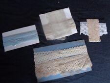 Lot de dentelles anciennes old french lace