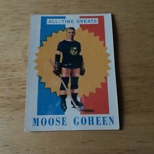 Topps hockey 1960-61 All Time Greats Moose Goheen card # 63