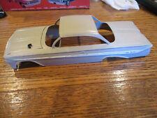 OLD  VINTAGE AMT/SMP 1961 Impala HT - PAINTED BODY /HOOD MODEL CAR  -K721