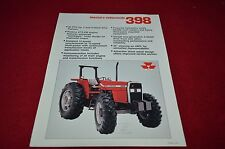 Massey Ferguson 398 Tractor Dealer's Brochure YABE7