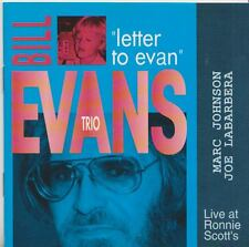 BILL EVANS TRIO  CD  LETTER TO EVAN