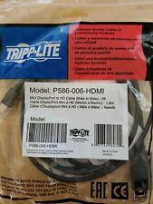 Tripp Lite P586-006-HDMI Mini DisplayPort to HDMI Adapter - 6ft