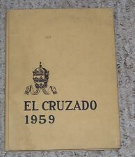 1959 Colegio Ponceno de Varones School Yearbook Annual Ponce Puerto Rico