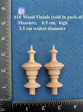*Pair of Clock / furniture Finials Style 61F