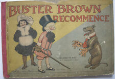 Richard F. OUTCAULT Buster Brown recommence Comic Vorläufer 1906