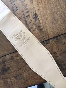 "Fender™ 2.5"" Genuine PU Leather Guitar Strap - Tan"