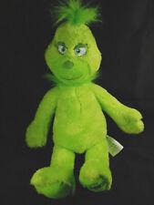 Build a Bear Workshop Singing Dr. Seuss The Grinch Plush Stuffed Animal