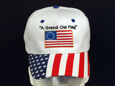 "Betsy Ross Flag - ""A Grand Old Flag"" Adult Embroidered Personalized Hat (new)"
