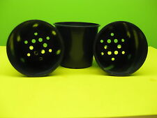 55mm new round pots for growing on cuttings, seedlings.