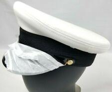 Canada Military White Service Cap Men's Sz: 7 1/4 NSN:8405-21-899-0854