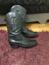 Men's Western Cowboy Biker Boots Genuine Leather Size Us 11, Uk 10