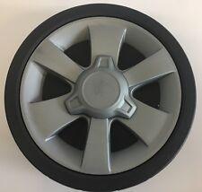 "2 x Masport lawnmower 8"" wheel wheels with bearing & Hub Cap"