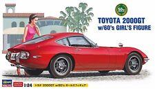 Toyota 2000GT w/60's Girl's Figure 1/24 ( Hasegawa )