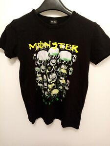 monster energy t shirt (approx 10-12years)